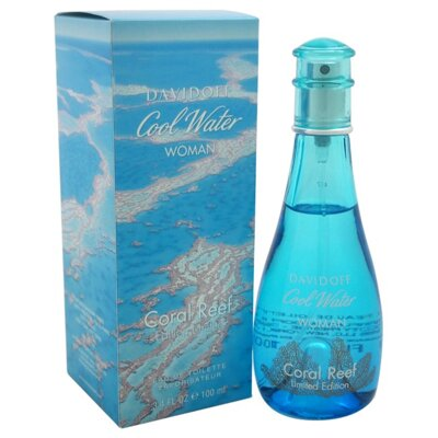 DAVIDOFF Cool Water Coral Reef Limited Edition EDT 100 ml Tester Woman