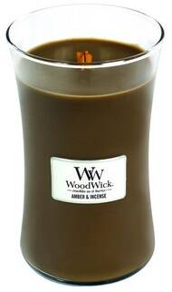 WoodWick Amber & Incense 609,5g